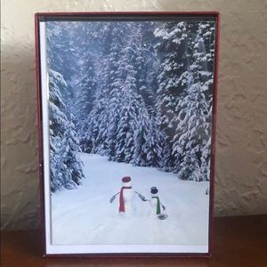 🎉3/$10 BNIB Pack of 20 Snowman Holiday Cards
